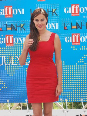 Giffoni Valle Piana, Salerno, Italia - 21 Luglio, 2011 : Isabelle Adriani al Giffoni Film Festival 2011 - il 21 Luglio, 2011 a Giffoni Valle Piana, Italia