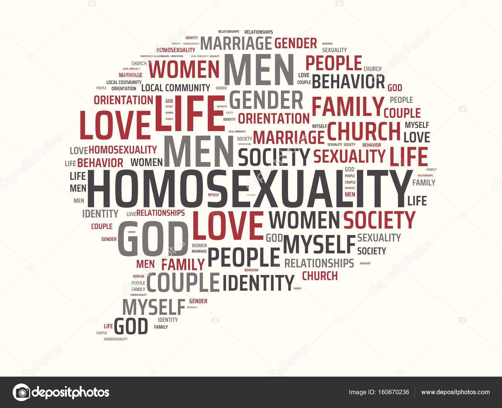 Words associated with sexuality