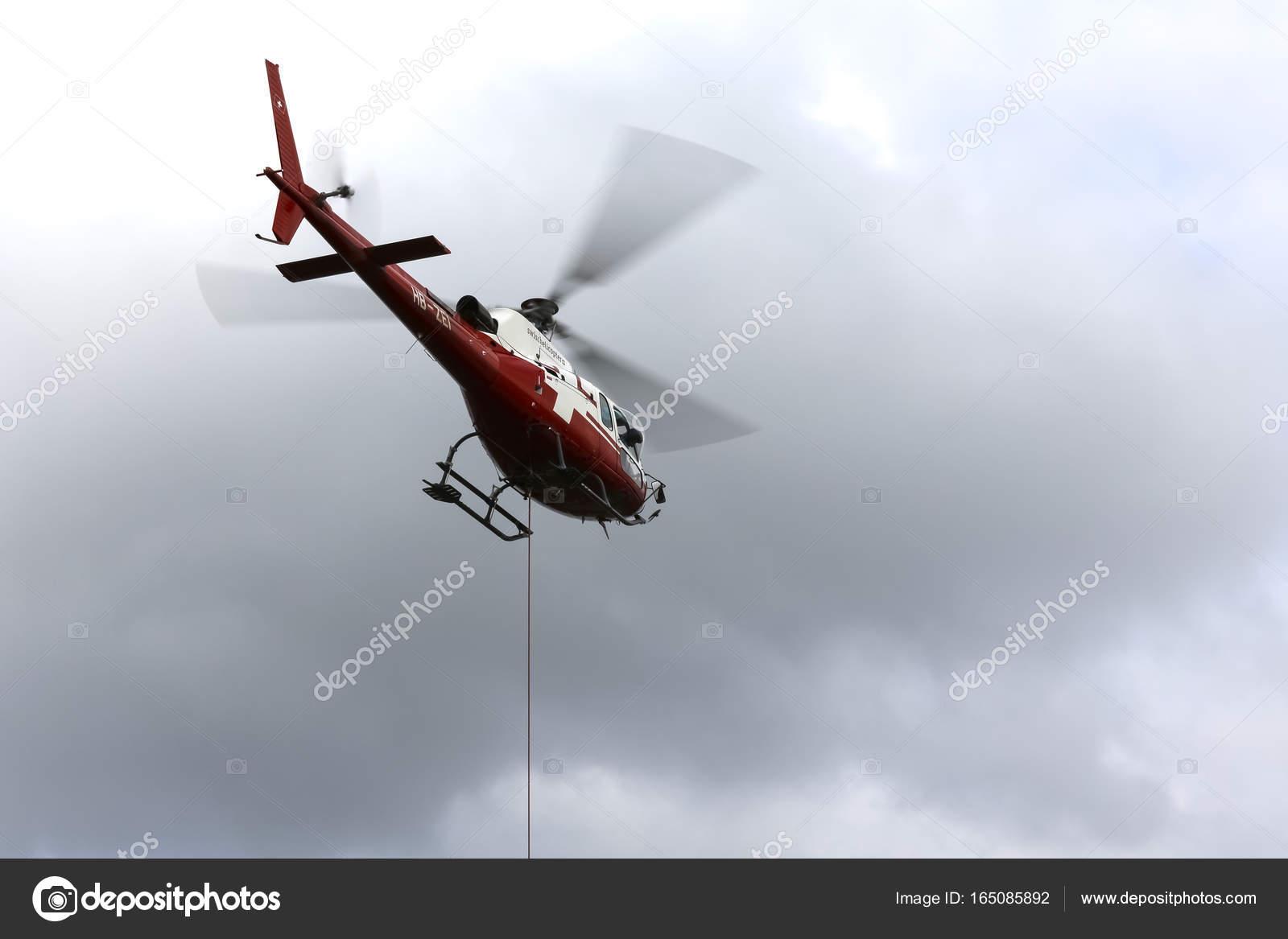 Elicottero B3 : La compagnia aerea swiss elicottero eurocopter al lavoro u foto