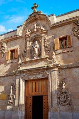 Civil war archive in Salamanca facade Spain