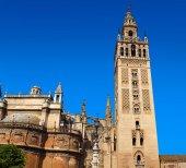 Fotografie Sevilla Giralda Turm der Kathedrale Sevilla Spanien