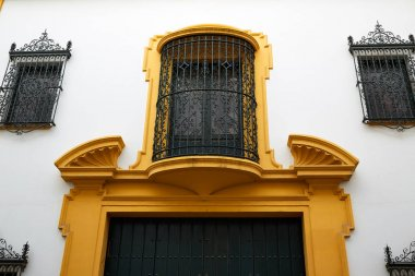 tipycal facade in seville