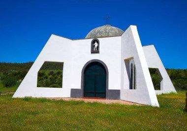 Pradera San Isidro church by Via de la Plata way