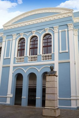 Zamora Ramos Carrion theater and Diputacion