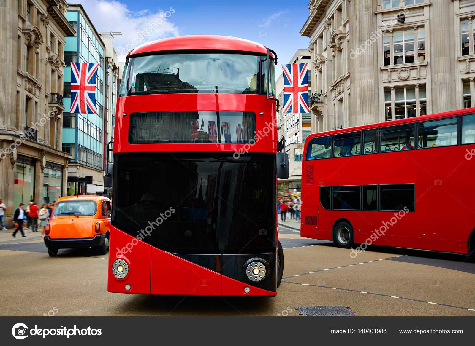 London Bus Oxford Street W1 Westminster Stock P O