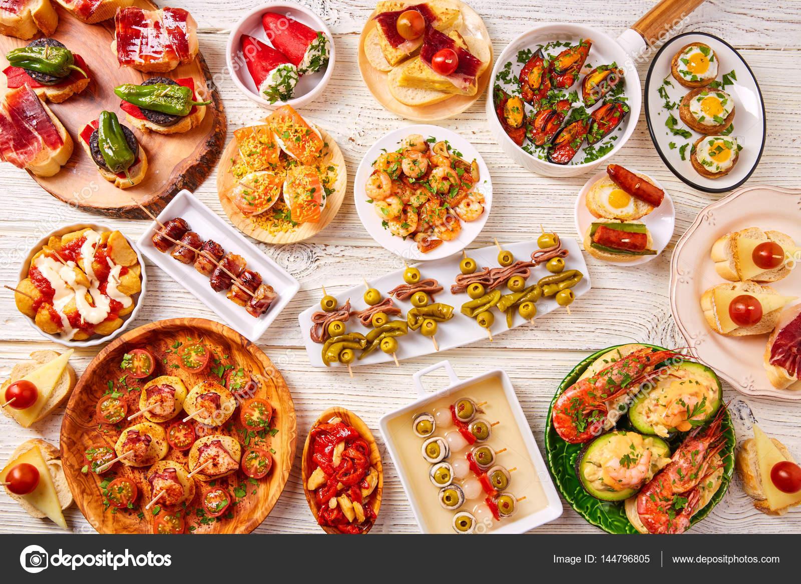 mat från spanien