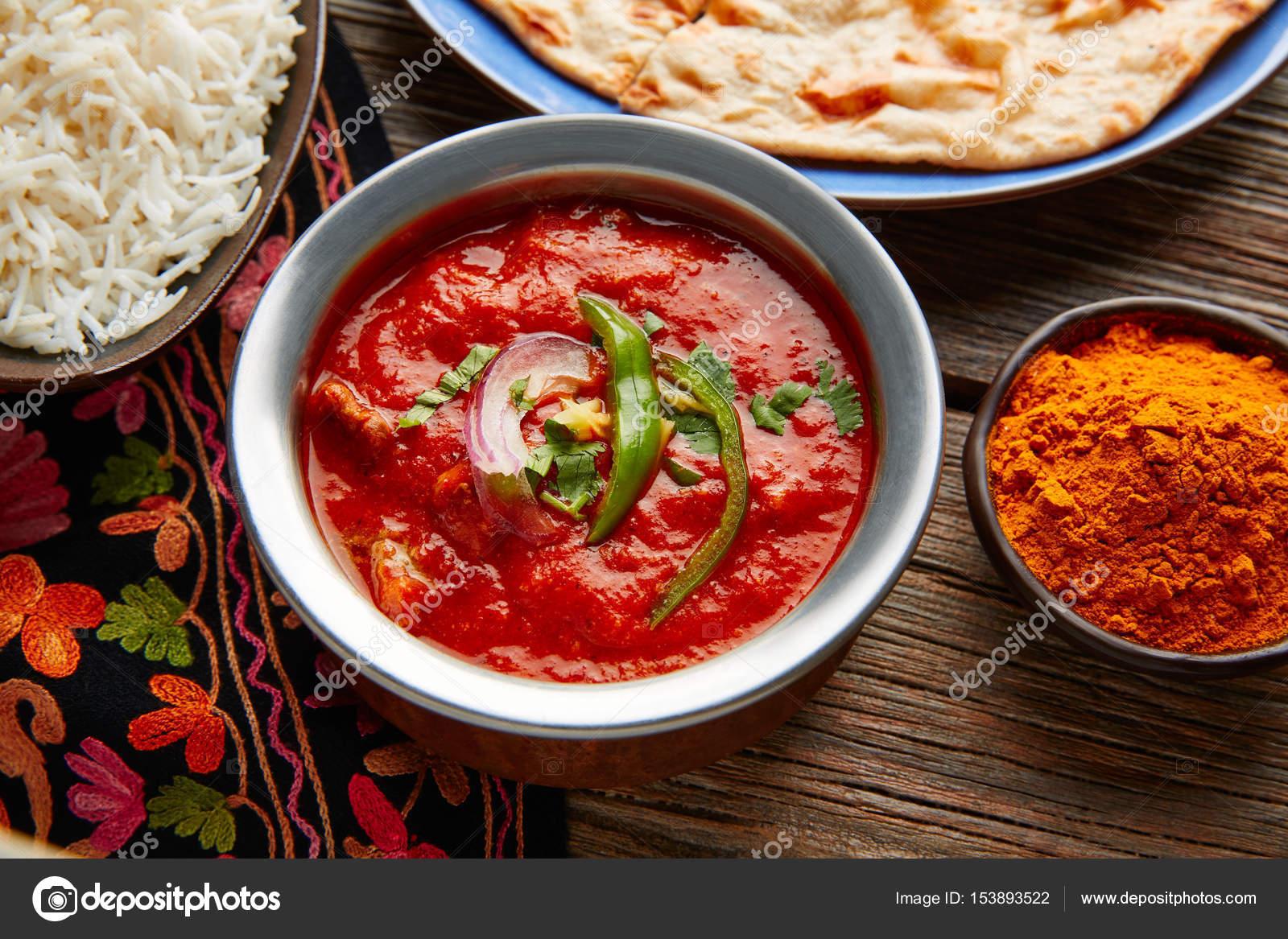 Chicken Tikka Masala Indische Rezept Essen Stockfoto Lunamarina