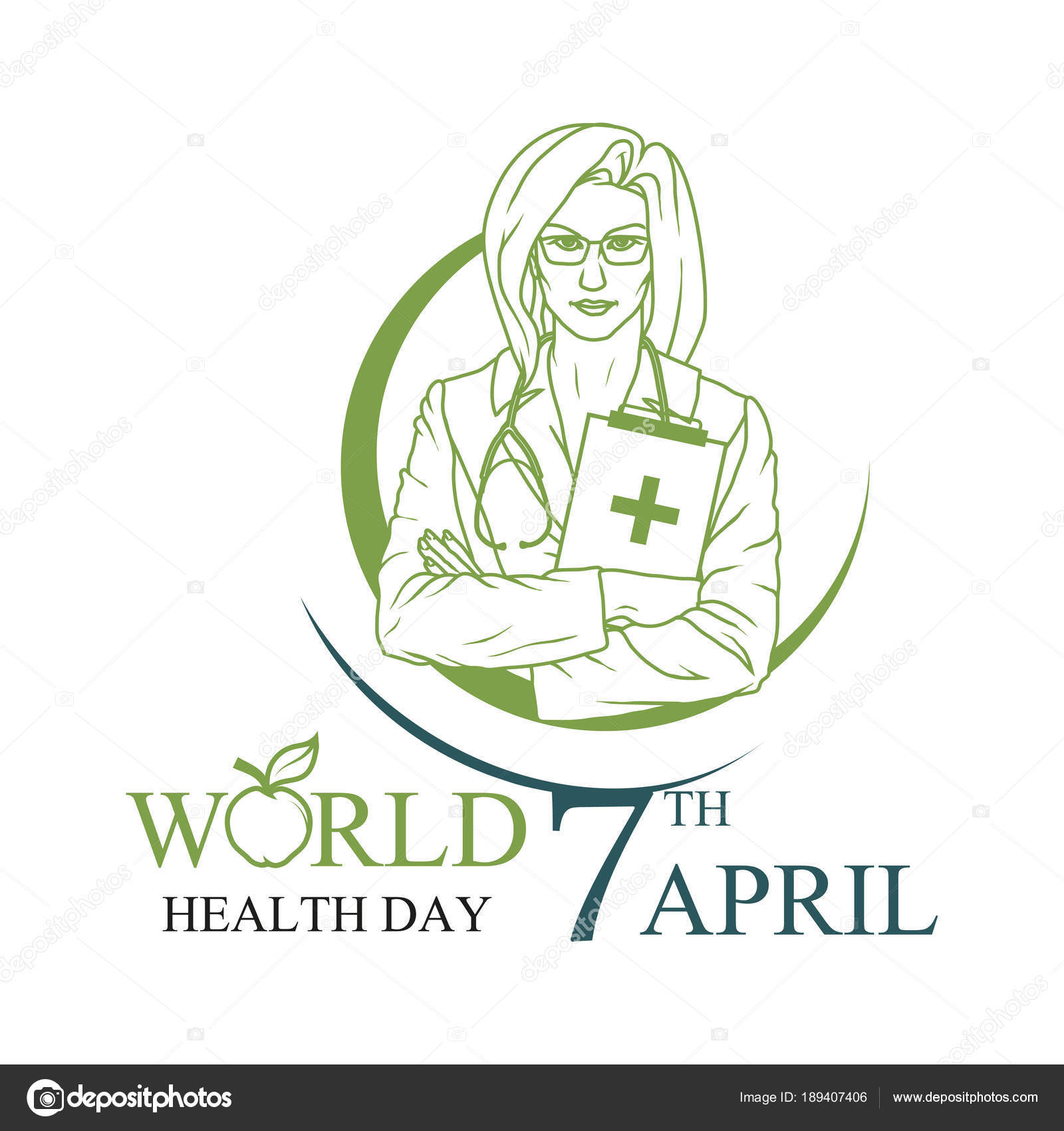 5a8a5aae164a World Health Day April Healthy Lifestyle Concept World Health Day ...
