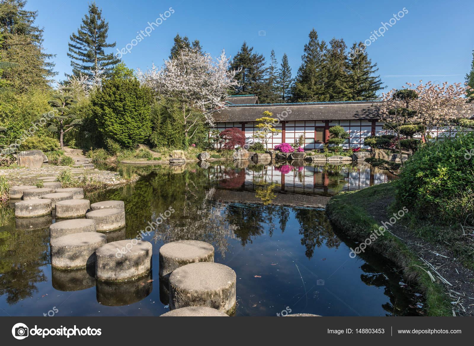 jardin japonais sur l le de versailles photographie thomaspajot 148803453. Black Bedroom Furniture Sets. Home Design Ideas