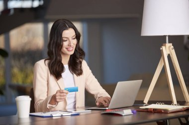 woman Banking online