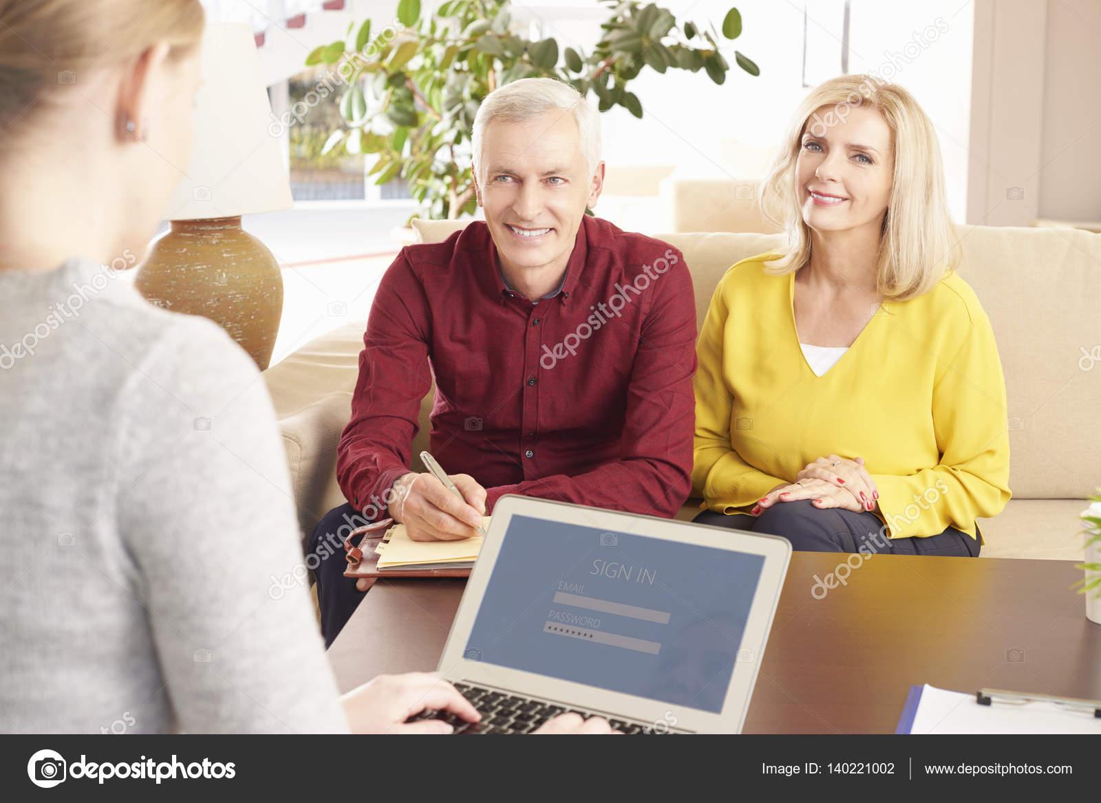 Seniors Online Meeting Senior