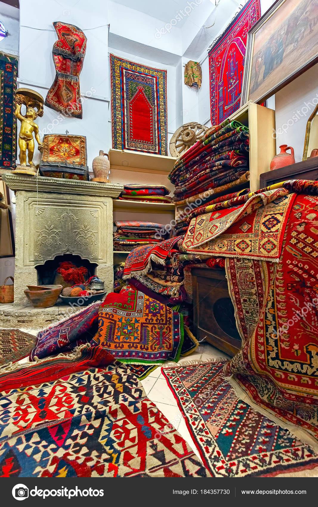 Interieur Boutique Tapis National Antique Photographie