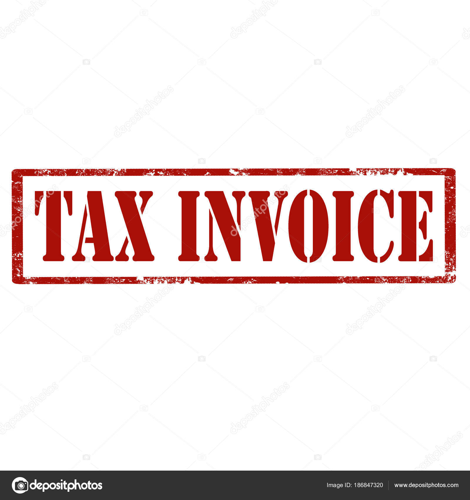 Tax Invoicestamp Stock Vector Carmendorin - Invoice stamp