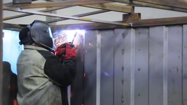 Welder Man Working