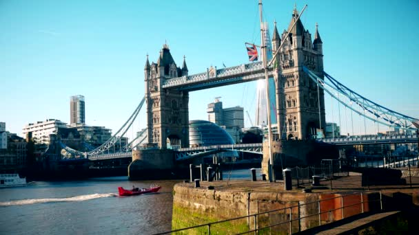 London. A view of the Tower Bridge.