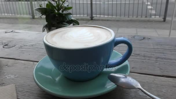 Latte - morning invigorating coffee.