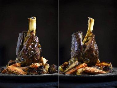 Two View Lamb Shanks