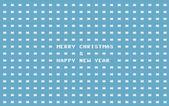 Fotografie retro computer christmas card