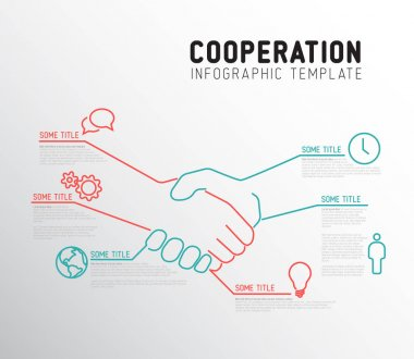 Infographic cooperation template