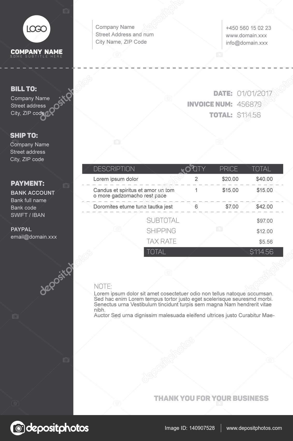 layout rechnung vorlage layout rechnung world of. Black Bedroom Furniture Sets. Home Design Ideas