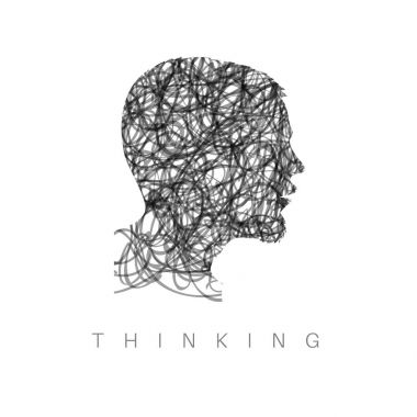Thinking concept illustration