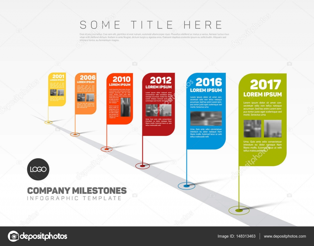 How To Do A Timeline In Powerpoint Milestone Timeline ...
