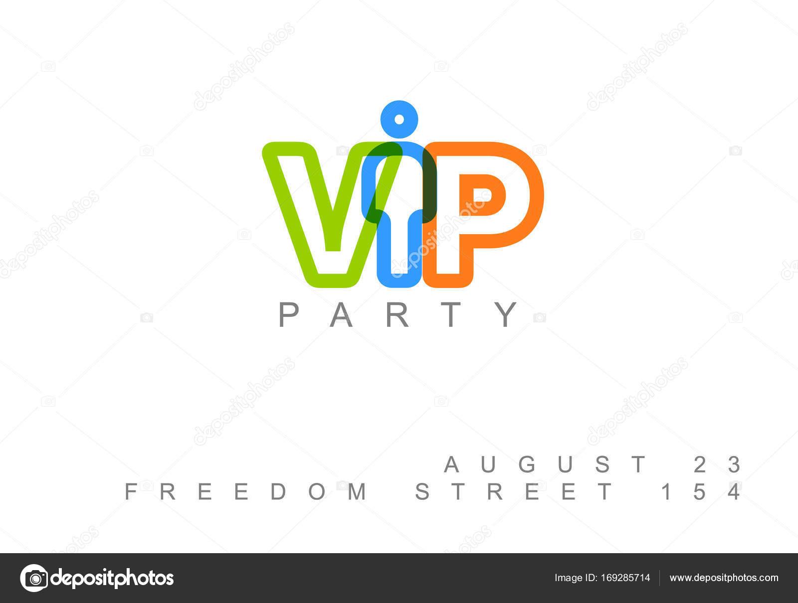 VIP-Club Party Einladung Vorlage — Stockvektor © orson #169285714
