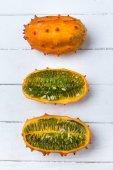 Fotografie horned melons fruit