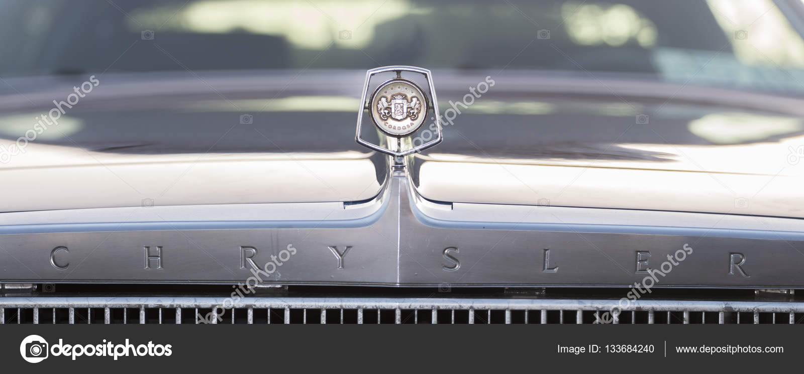 Chrysler Auto Merk Logo Redactionele Stockfoto C Membio 133684240