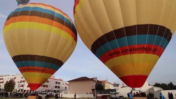 Palloni Ad Aria Calda.Ascensione Di Palloni Ad Aria Calda Video Stock C Membio 137429118