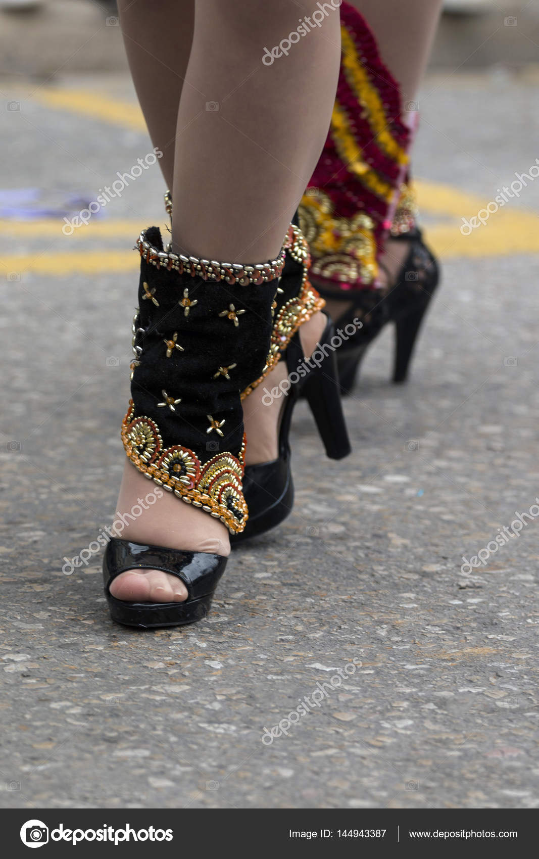 Membio Zapatos Foto Carnaval Stock Mujer — © De 144943387 w4TnvPZx4 a0d9955a5a53