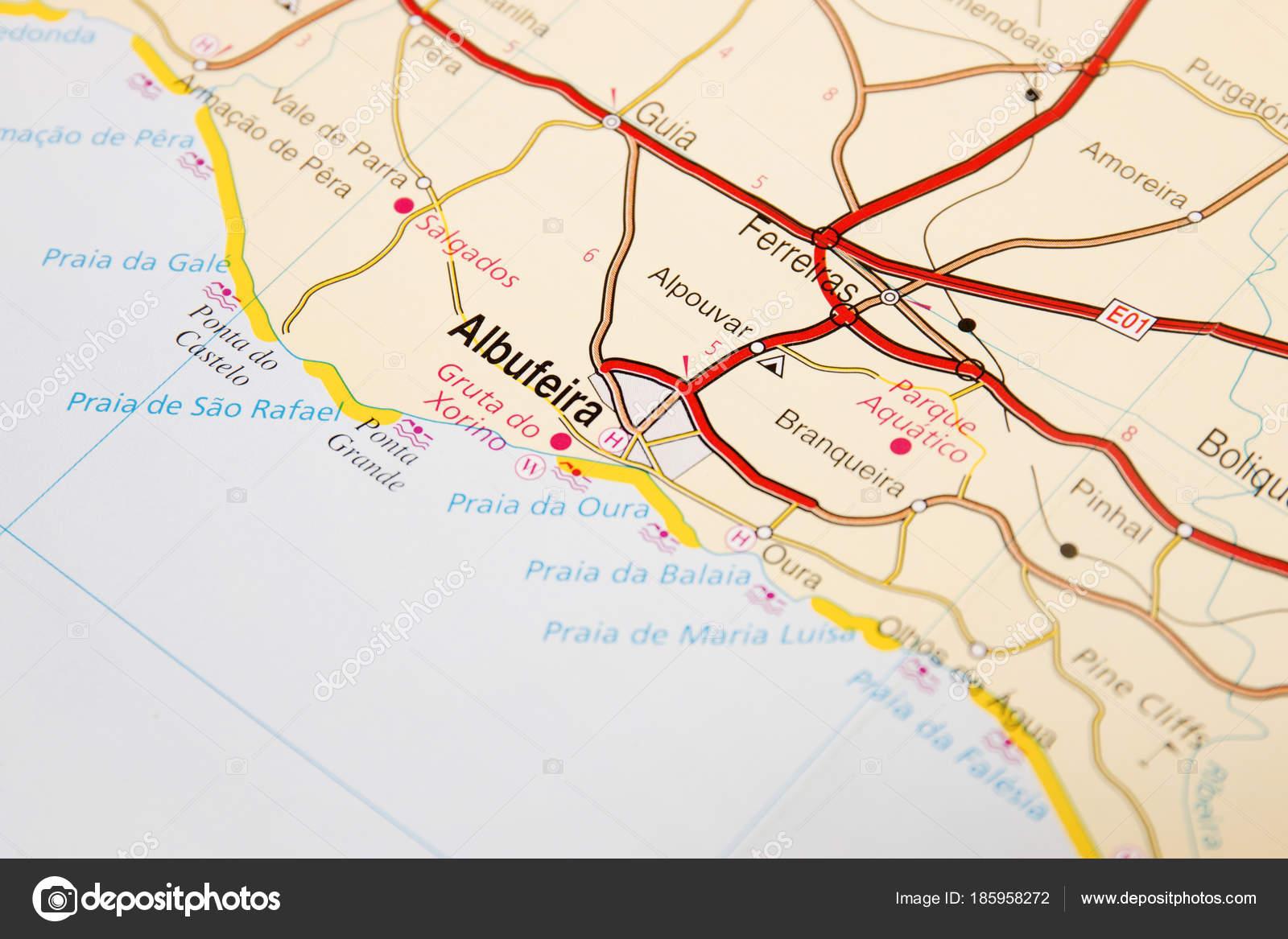 Road Map Detail Stock Photo C Membio 185958272