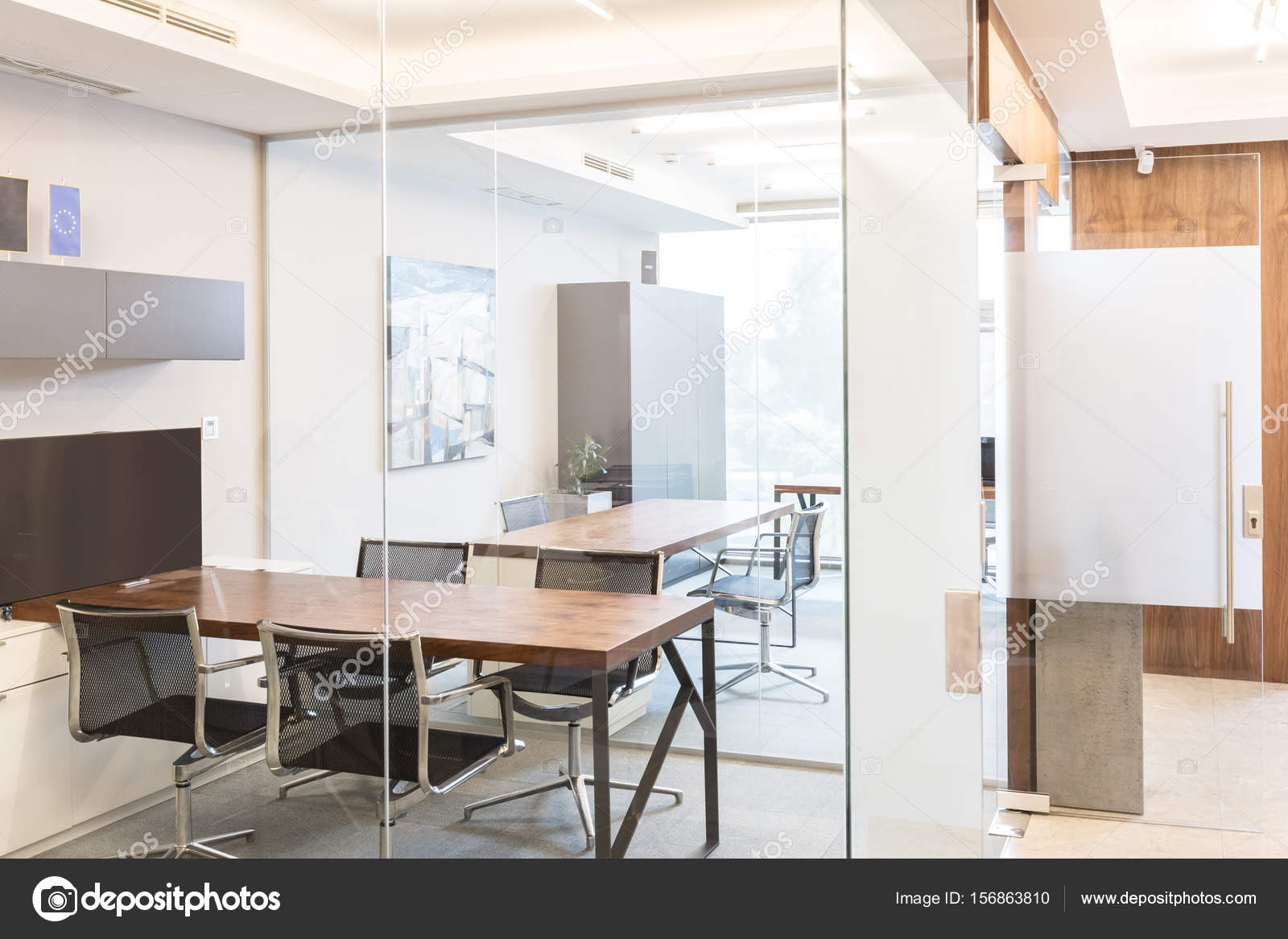 Moderne Büro-Interieur — Stockfoto © kasto #156863810