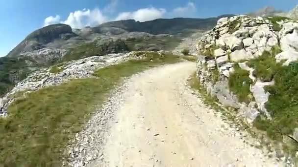 Motorka na horách