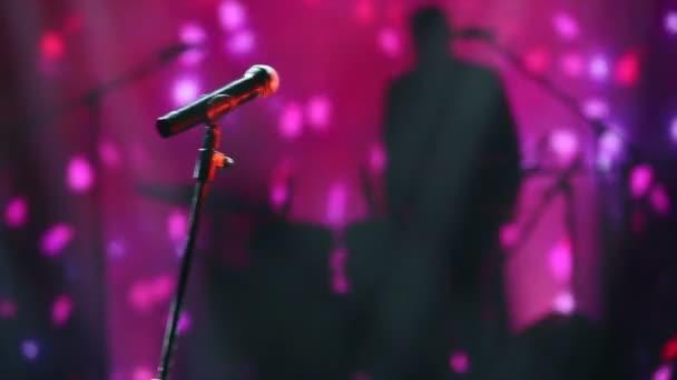 Mikrofon na televizním studiu Koncertní záběry pro různé akce!!! (Detail televizního studia)