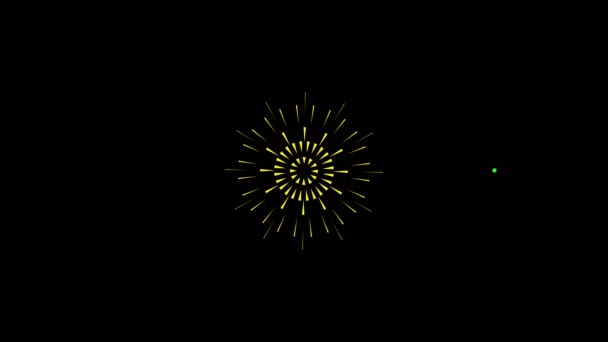 Fireworks cartoon 2d flash fx animation for your projects.