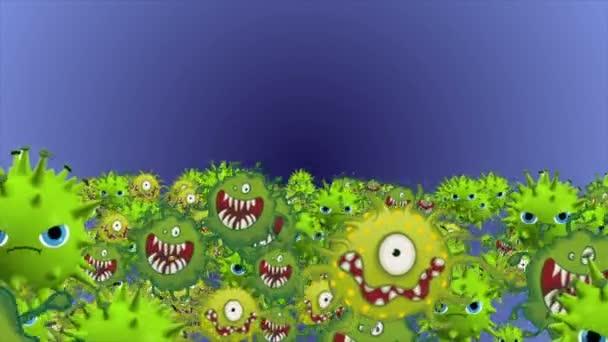 Bacteria Cartoon Stock Videos Royalty Free Bacteria Cartoon Footage Depositphotos