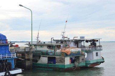 TARAKAN, INDONESIA - 1st February 2017 : loading and unloading activities on the Tengkayu seaport Tarakan Indonesia