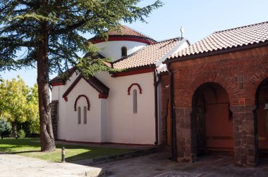 Serbian Orthodox monastery Zica built in 13th century, Central Serbia, Kralevo. The coronational church of the Serbian kings.