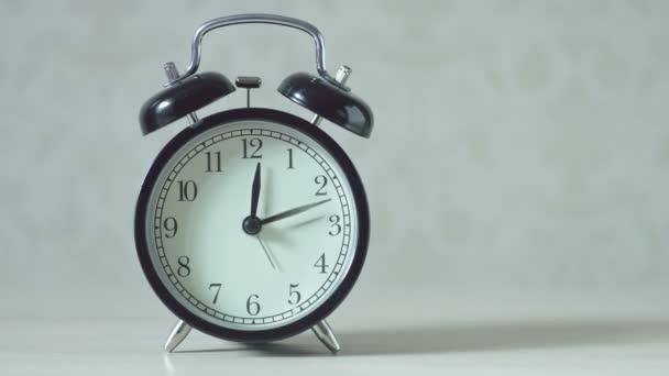 4k Timelapse hodiny retro styl