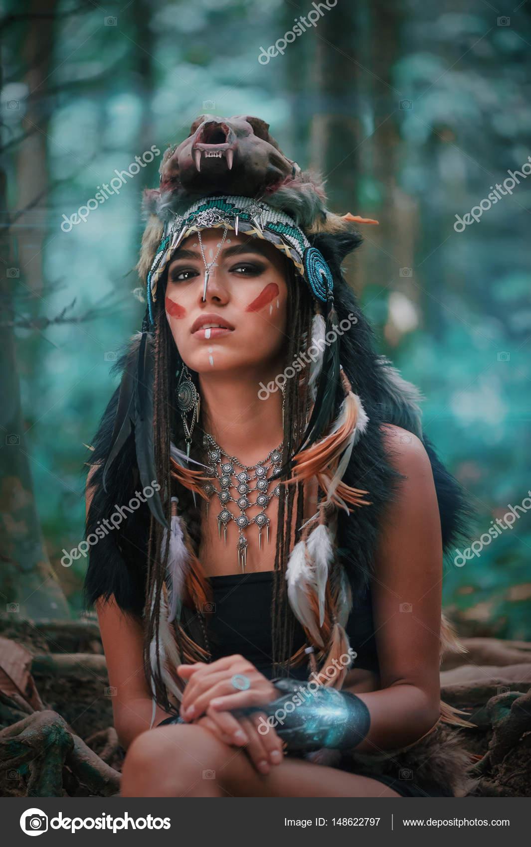 Imágenes Mujeres Indias Apaches Retrato De Mujer India