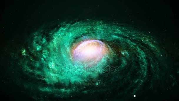Rotující spirální galaxie