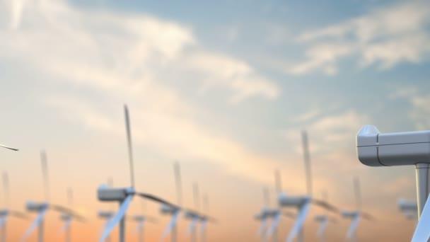 Větrné energie turbíny jsou jedním z nejčistších, obnovitelné elektrické energie zdroje