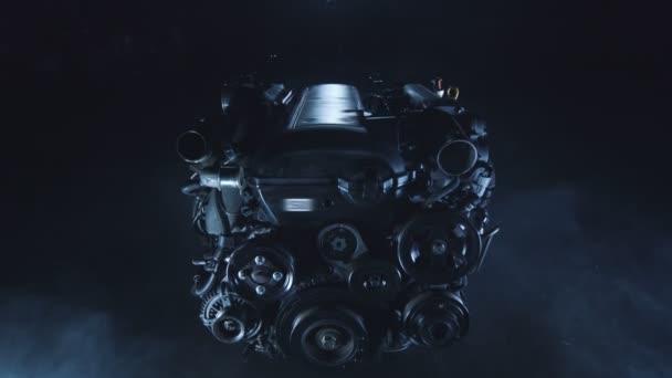 Automobilové závodní motor s vnitřním spalováním v technické opravny