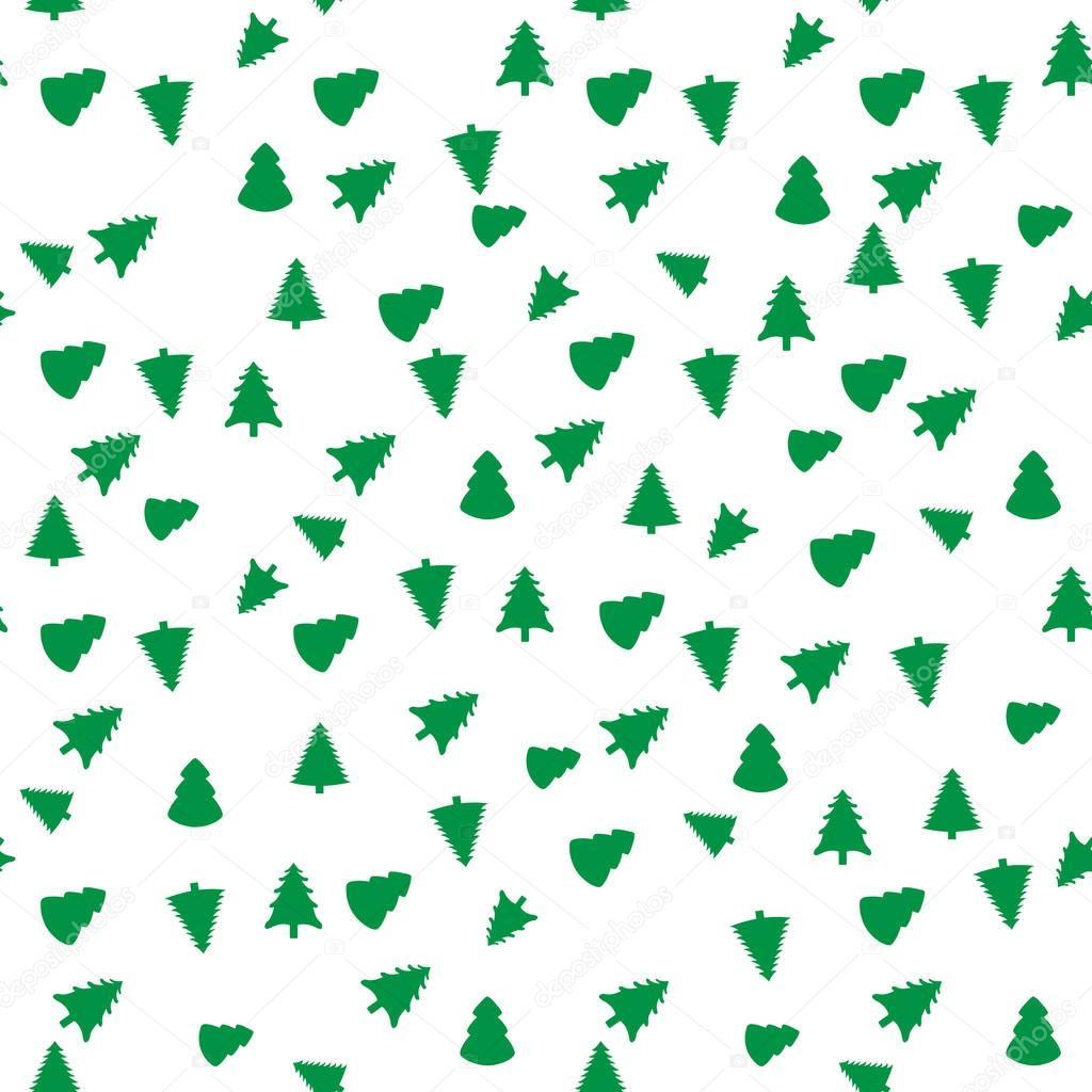 Textile Stock Distributors Mail: Arbre De Noël Motif Sans Soudure Géométrique. Graphique De