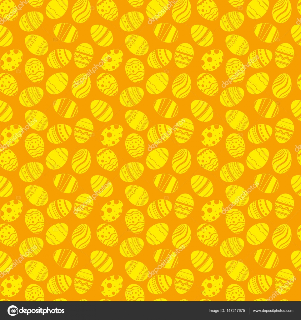 Easter eggs ornaments seamless pattern easter holiday orange and depositphotos147217675 stock illustration easter eggs ornaments seamless patterng negle Images