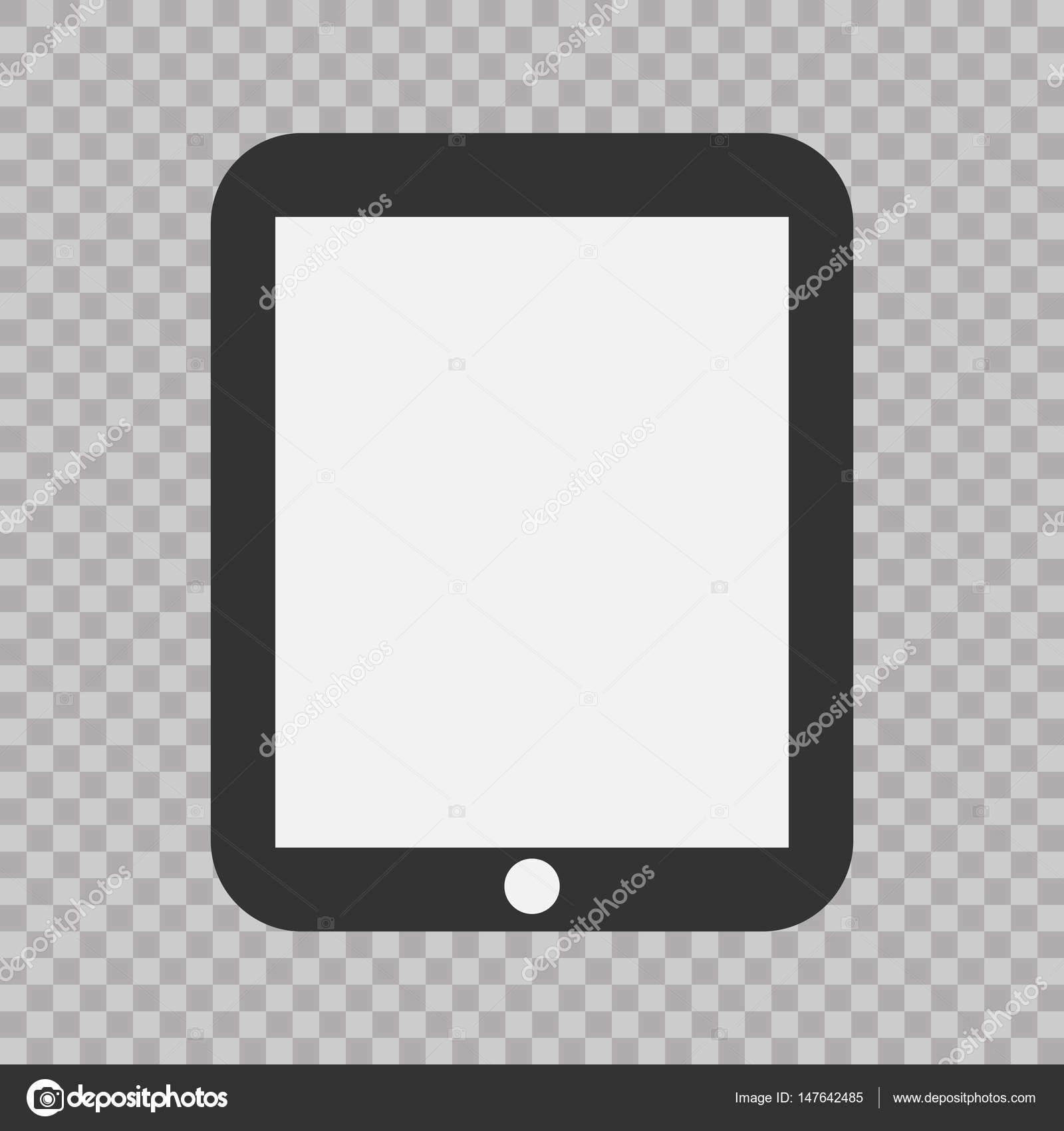 Tablet Flat Icon In Ipad Stylector Illustration Eps10 Modern