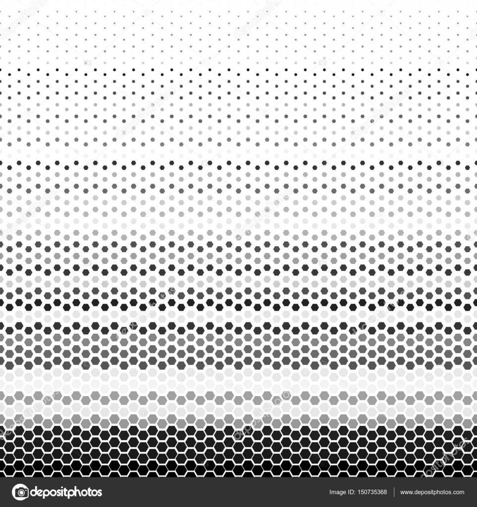 Textile Stock Distributors Mail: Abstract Geometric Black And White Graphic Halftone