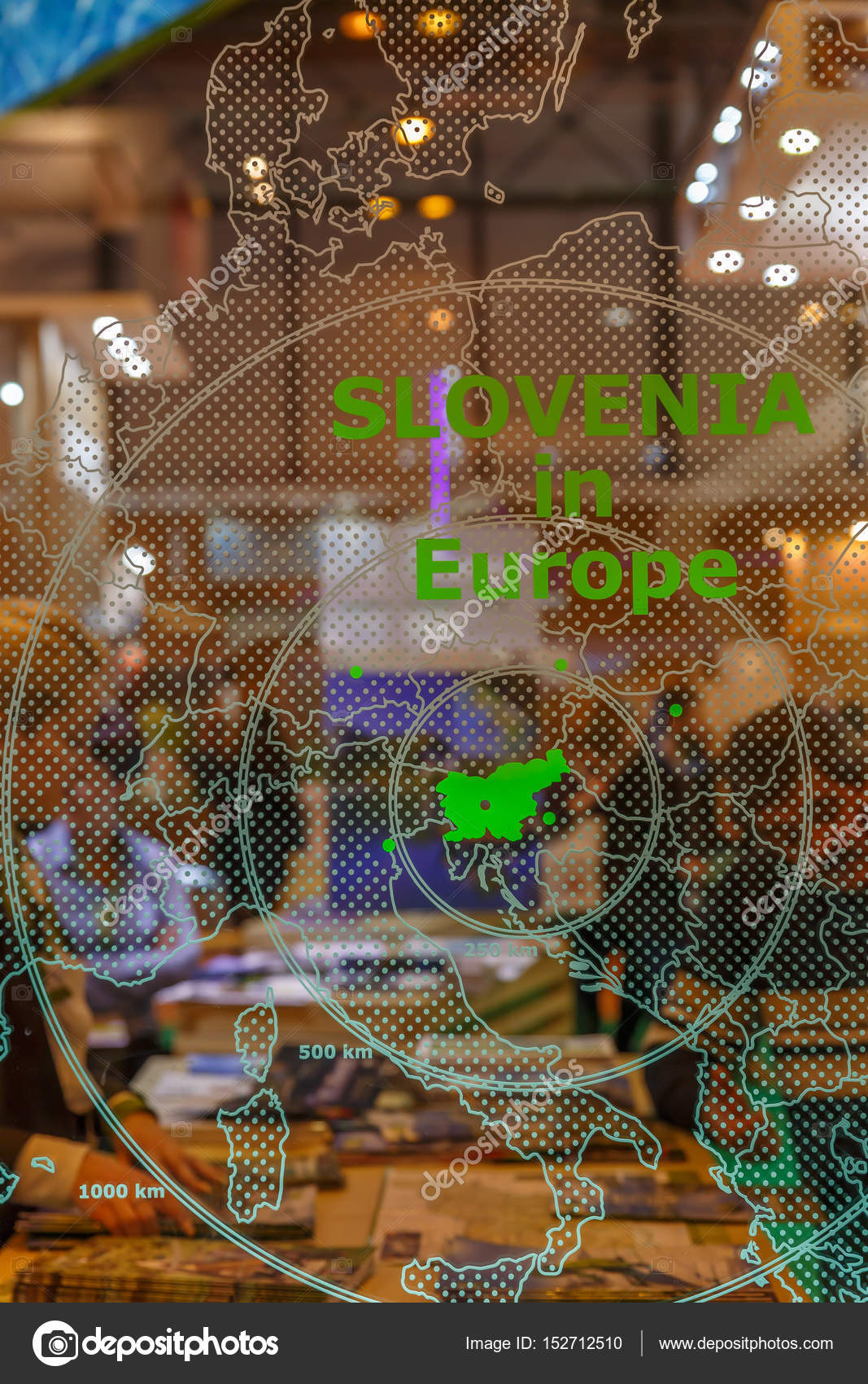 Where Is Slovenia On A Map Of Europe.Transparent Map Of Europe With Indication Of Where Slovenia Is