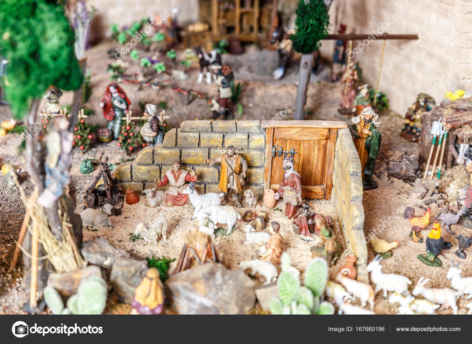 Cuna de muchos personajes de la época del nacimiento de Jesús — Foto ...